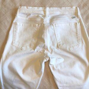 Lucky crop leg skinny jeans
